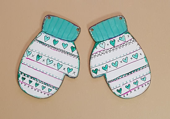 Mittens Plaques
