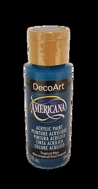 Tropical Blue Americana Acrylic Paint