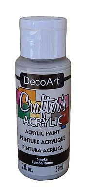 Storm Cloud Grey Acrylic Paint