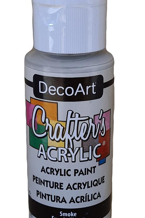 Smoke Acrylic Paint