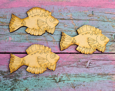 Set of 3 Fish