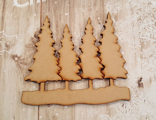 Snowy Trees set 3