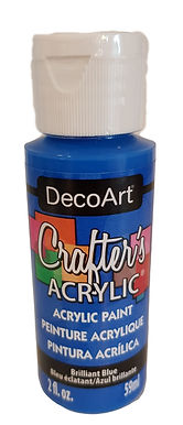 Brilliant Blue Acrylic Paint