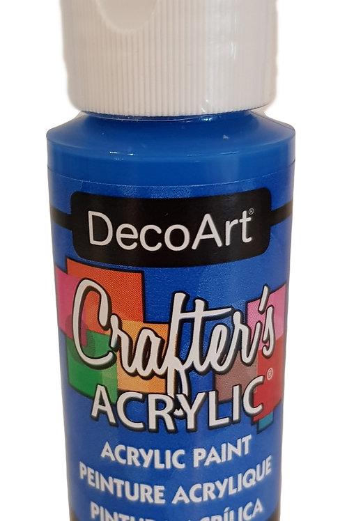 Brilliant Blue Acrylic Paint