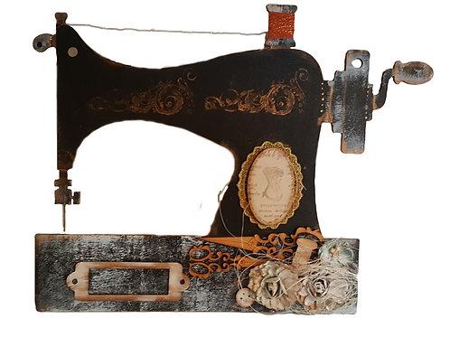 Sewing Machine Plaque