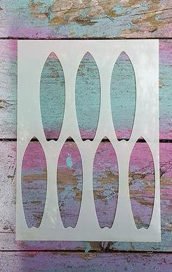 Surfboards Stencil
