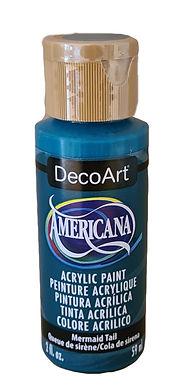 Mermaid Tail Americana Acrylic Paint