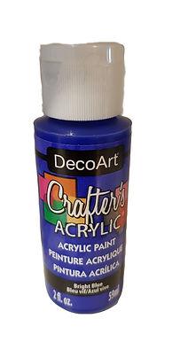 Bright Blue Acrylic Paint