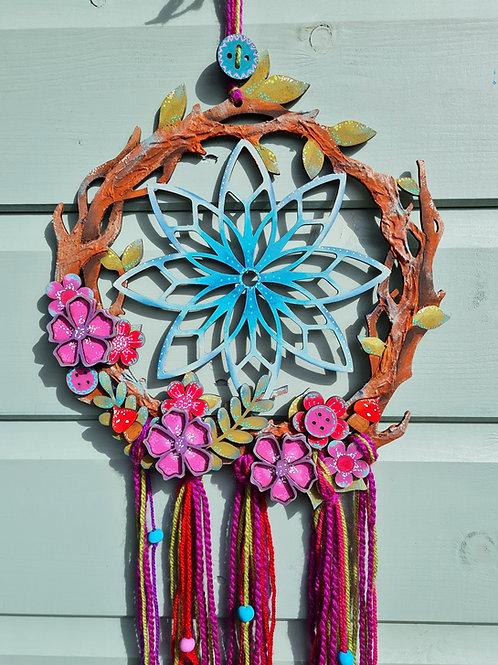 Mandala Dreamcatcher Hoop