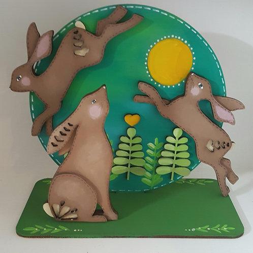 Folk art Hare Kit