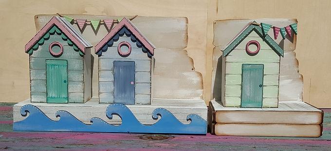 Beach Huts Kit