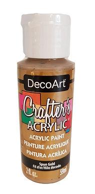 Spun Gold Acrylic Paint