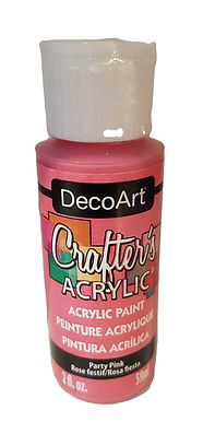Party Pink Acrylic Paint