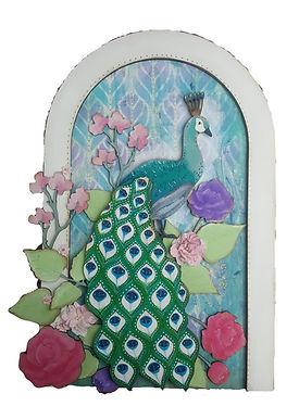 Peacock Arch Plaque