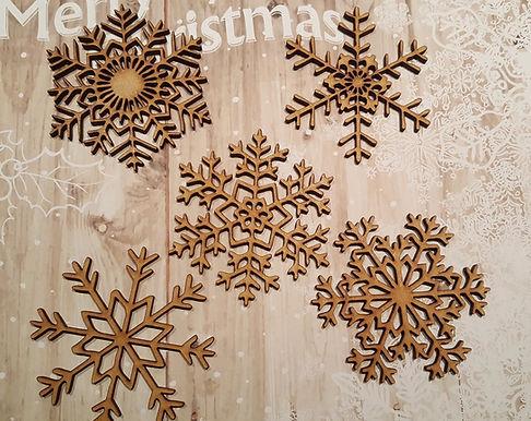 Large Snowflake Pack 1