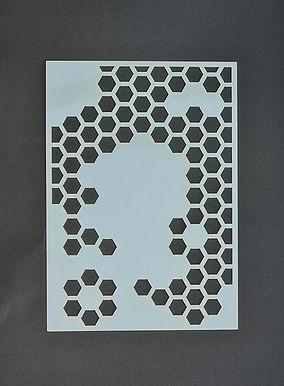 Big Honeycomb Stencil