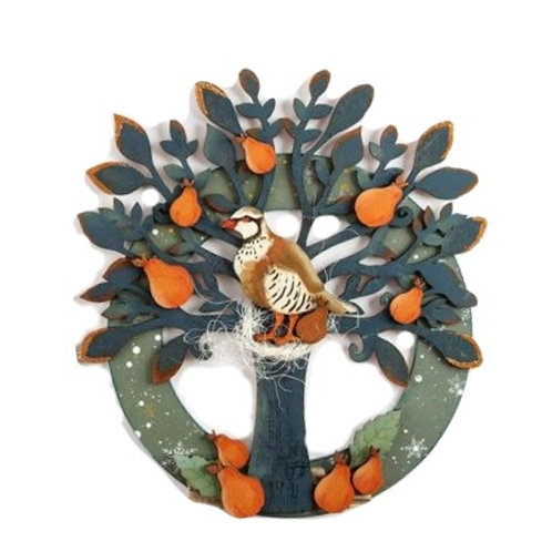 Partridge in a Pear Tree Plaque