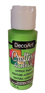 Grasshopper Green Acrylic Paint