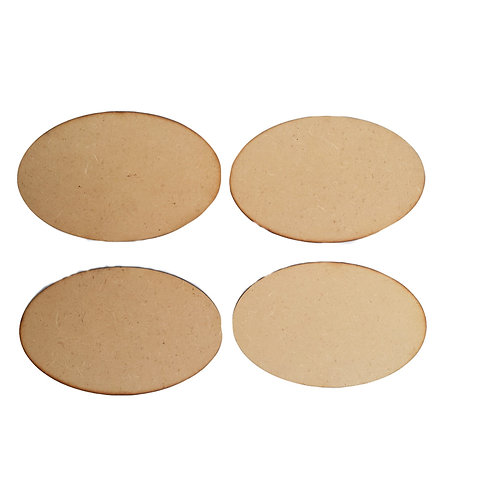 Small Oval Plaques