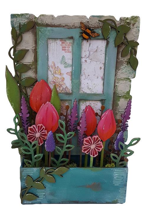 Window Box Plaque