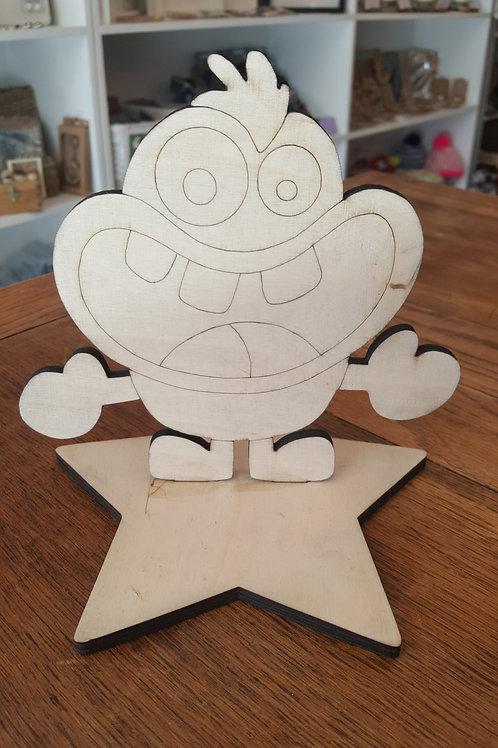 Wee Monster 1 Craft Kit
