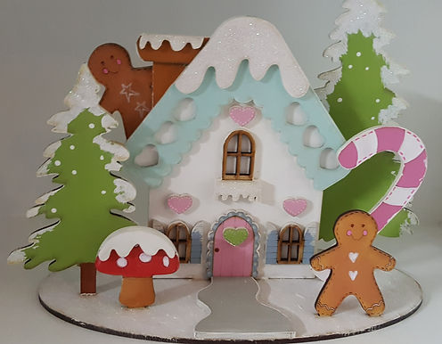 Gingerbread House Xmas Kit