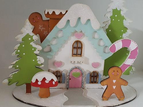 Gingerbread House Xmas Kit