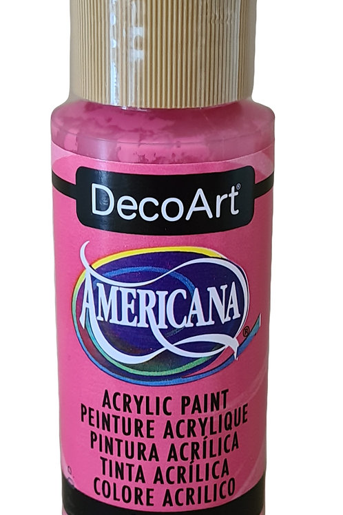 Peony Pink Americana Acrylic Paint