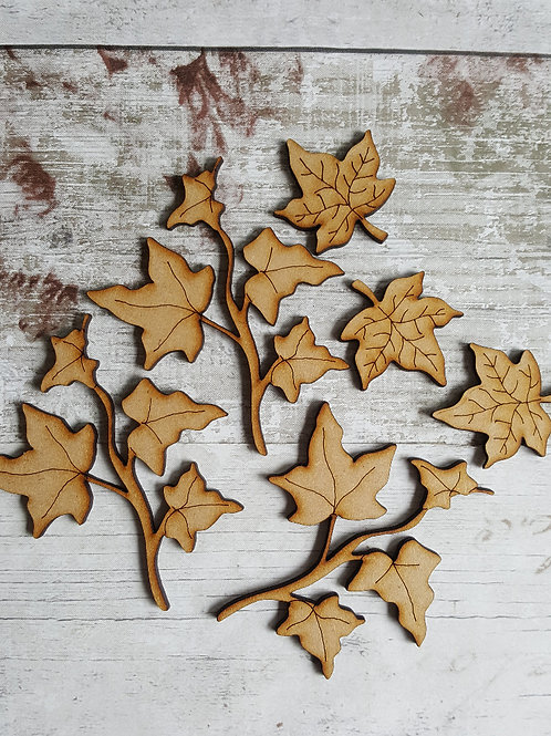 Extra Ivy pack for our MDF Xmas Wreath kits.