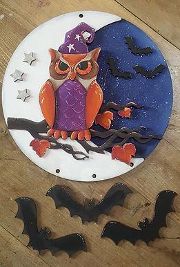 Wizard Owl Plaque