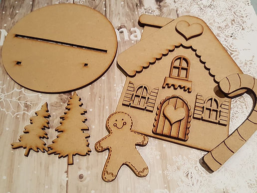 Xmas Gingerbread House Kit