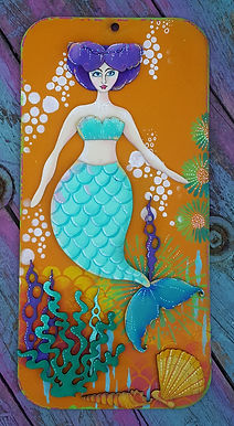Mermaid Plaque 2