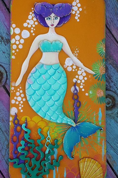 Mermaid Plaque 2