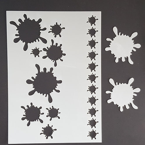 Splat 2 Stencil