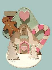 Original Gingerbread House Kit