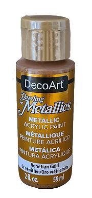 Venetian Gold Metallics Acrylic Paint