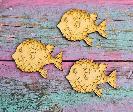 Set of 3 Pufferfish