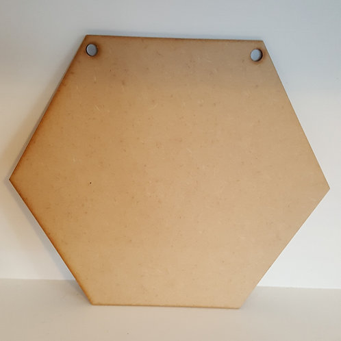 Hexagonal Quilt Panel Plaque
