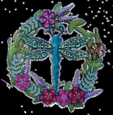 Big Dragonfly Plaque