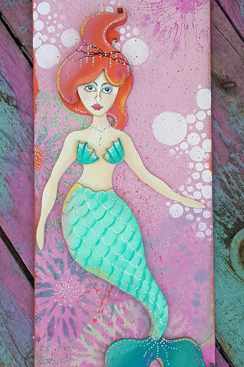 Mermaid Plaque 1