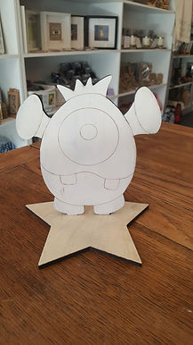 Wee Monster 3 Craft Kit