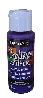 Grape Soda Acrylic Paint