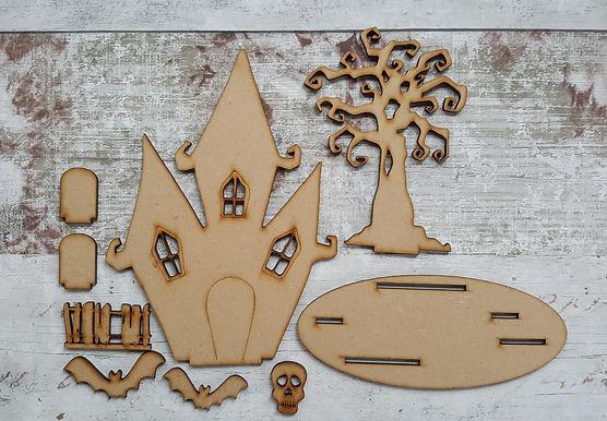 Spooky House Kit