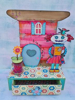 Miss Sewbot Storage Box