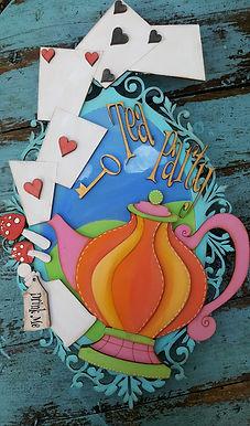 Teaparty Plaque