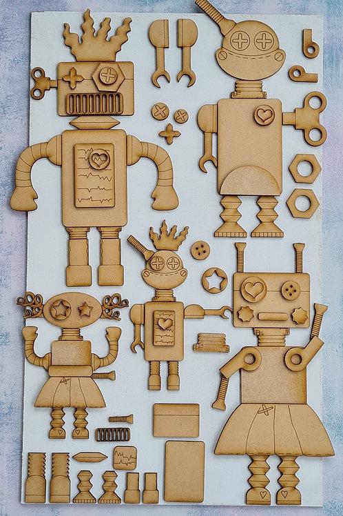 Build a Junkbot kit