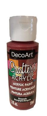 Burgundy Acrylic Paint