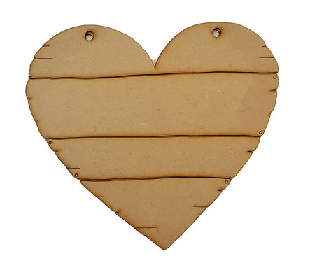 Heart Driftwood Plaque