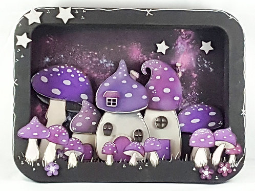 Toadstool House Box Frame