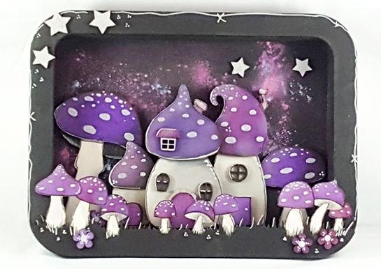 Toadstool House Box Frame